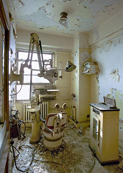 18th floor dentist cabinet, David Broderick Tower