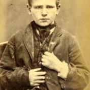 James Scullion, 13 ans. Condamné à 14 jours de travaux forcés pour vol de vêtements.