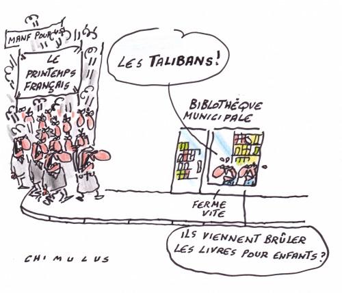 Printemps français bibliothèques