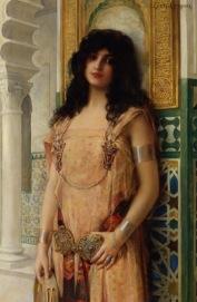 Comerre_Leon_Francois_An_Eastern_Beauty_Oil_on_Canvas-large - arc