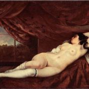 Femme nue couchee2