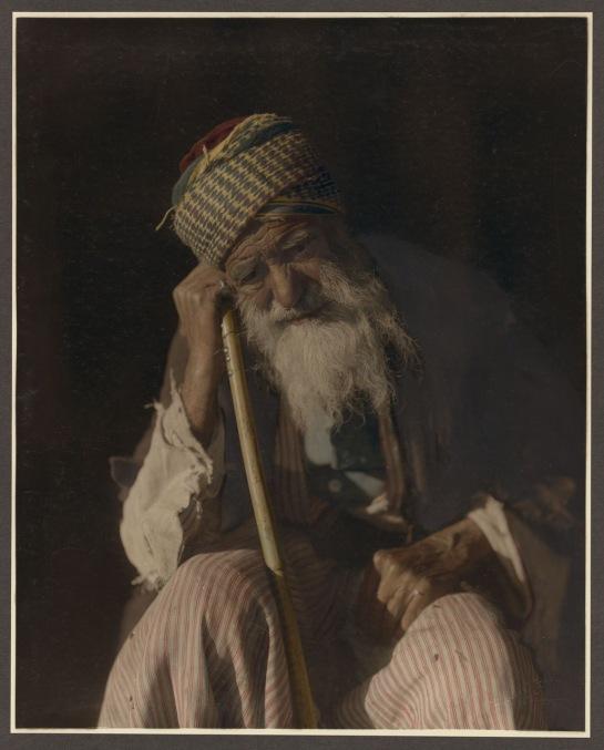 Jérusalem, vieux juif