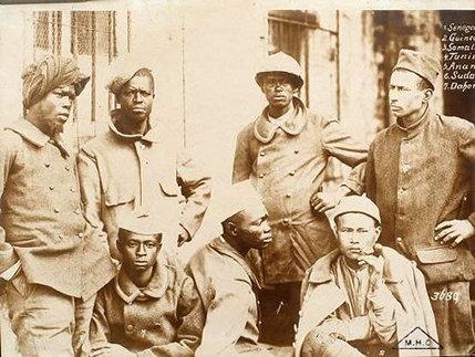 soldats coloniaux