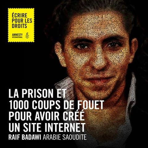 Cliquez pour aider Raif Badawi