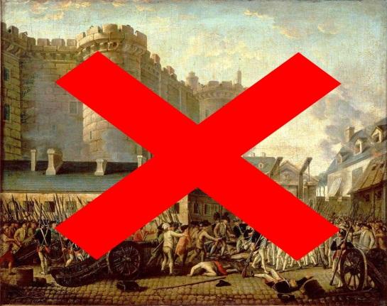 Quand la Révolution est institutionnelle, la révolte est forcément interdite