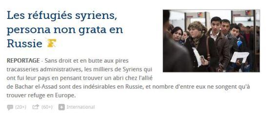 Russie_Réfugiés