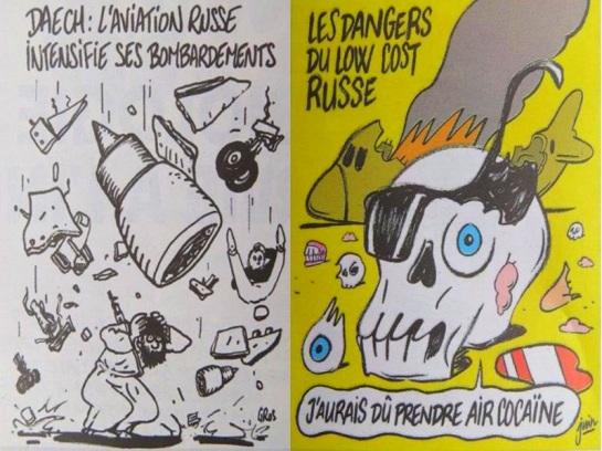 Charlie Hebdo_Avion Russe