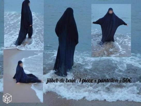 Jilbab de bain